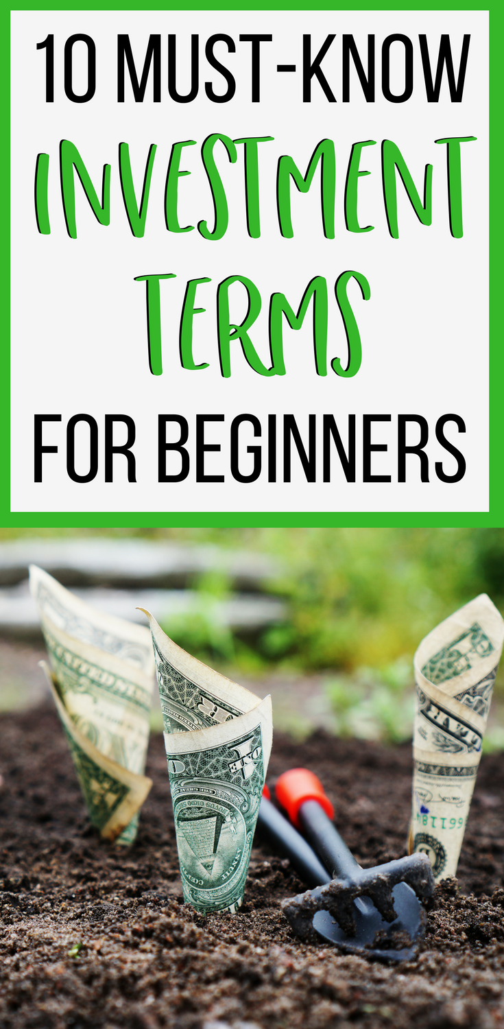 10 investment terms for beginners - if you're wanting to start investing, it's important you know the meaning of some key investment terms. Click through to learn about 10 investment terms you'll quickly come across.