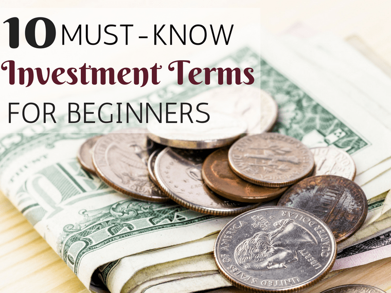 10 Must-Know Investment Terms for Beginners