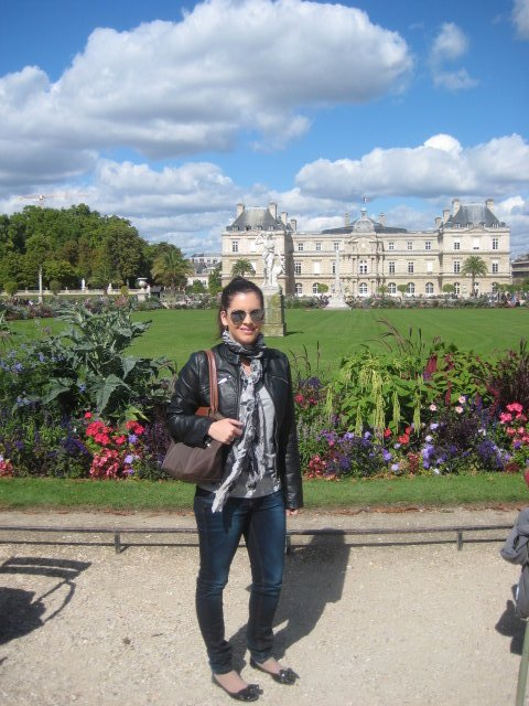 At the Jardin du Luxembourg