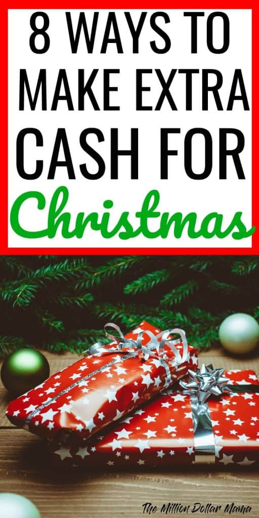 8 ways to make extra cash for Christmas