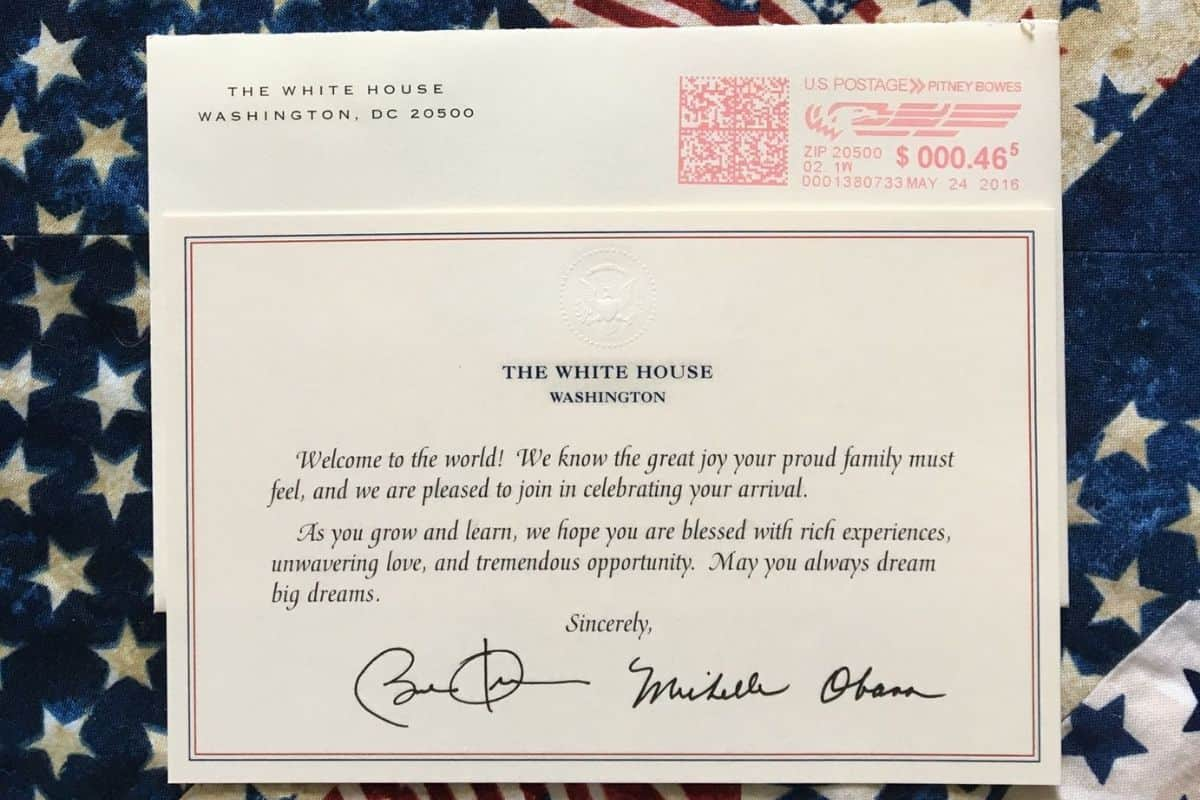 presidential greeting from obama