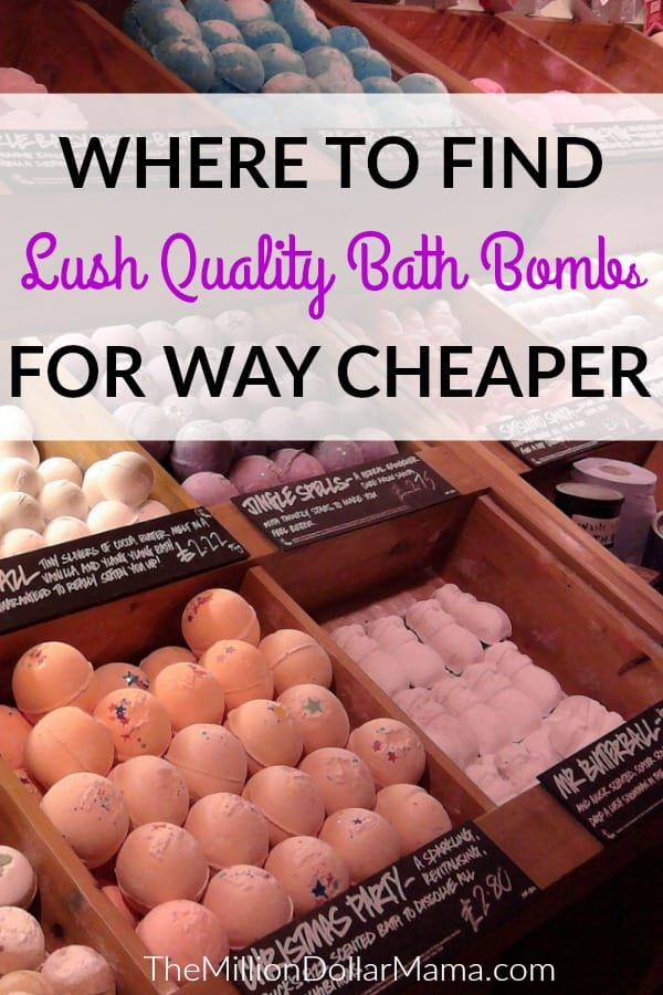 I love Lush bath bombs, but they're expensive. These cheaper alternatives to Lush bath bombs are just as luxurious, but half the cost. I'll save my Lush bath bombs for a special occasion!