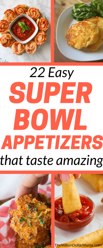 22 easy super bowl appetizers that taste amazing