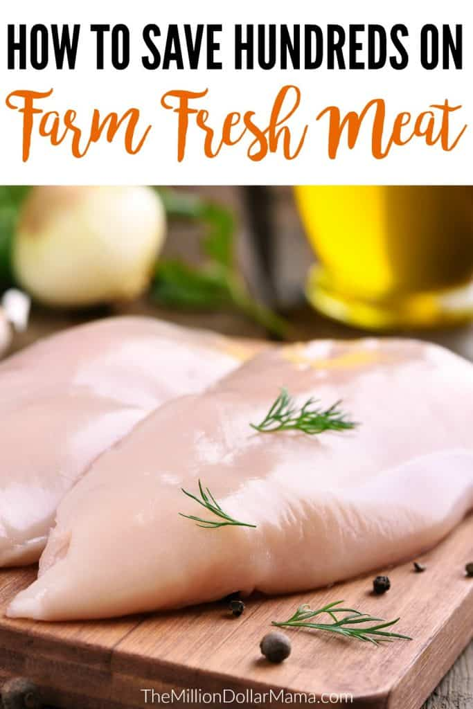 How to save money on meat - this website sells farm fresh meat at wholesale prices, meaning that it's way cheaper than what you'd pay in a grocery store!