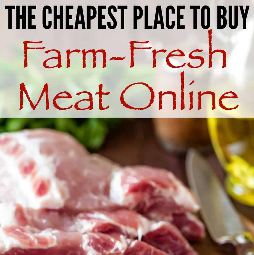 The cheapest place to buy meat online! Save tons of money on meat!