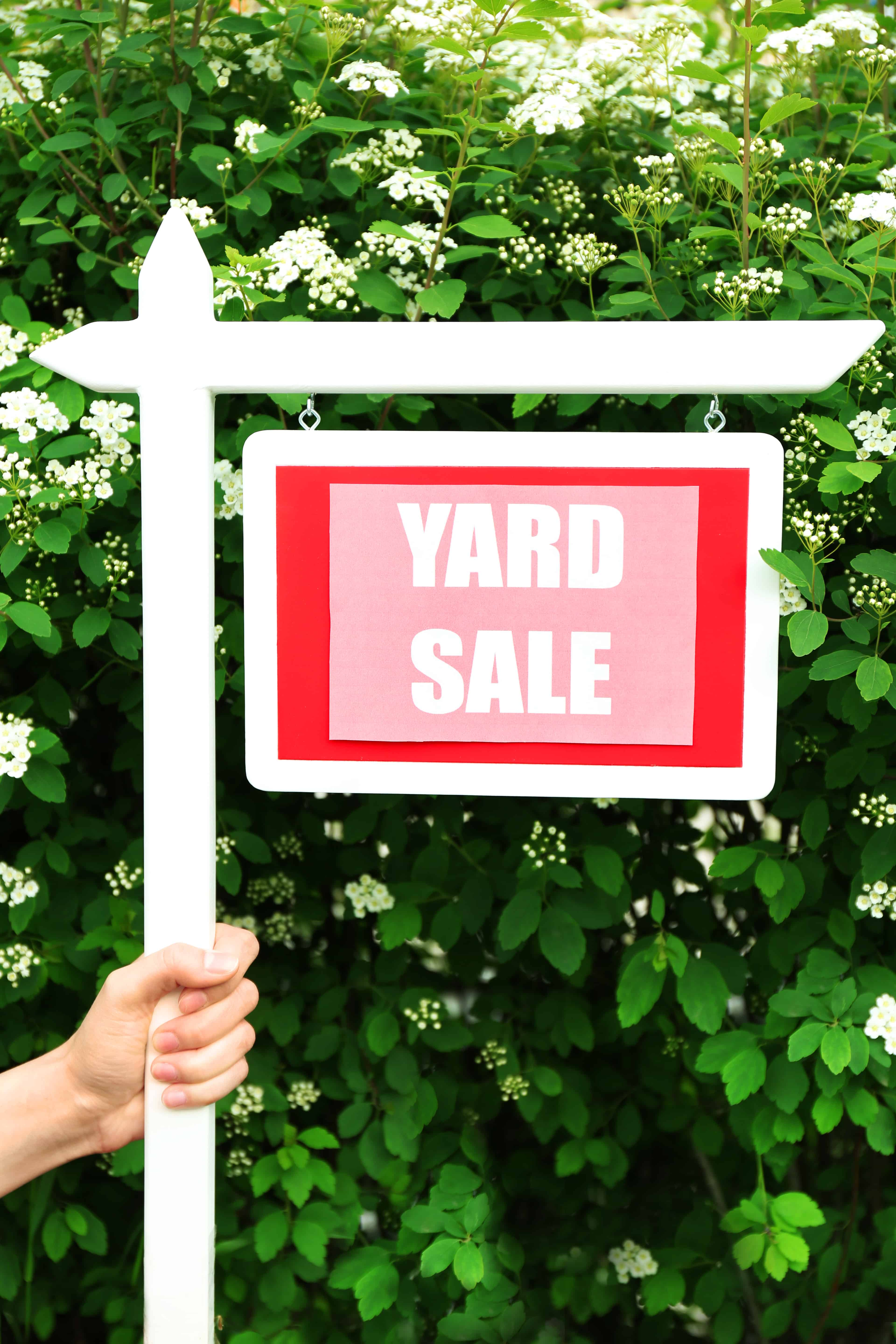 Yard Sale Tips and Tricks