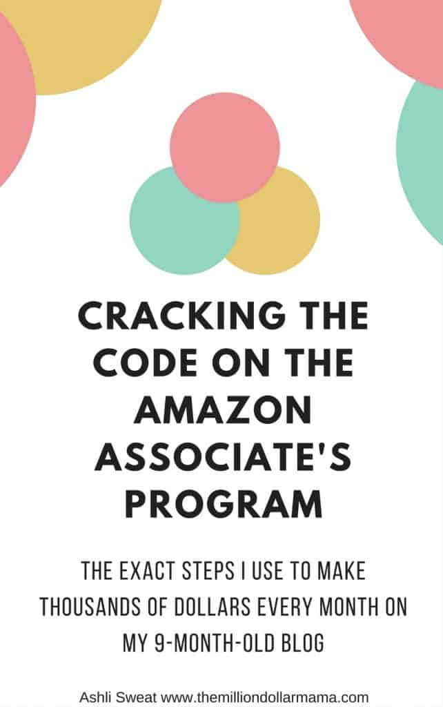 How to make money on Amazon - Cracking the Code on the Amazon Associate's Program