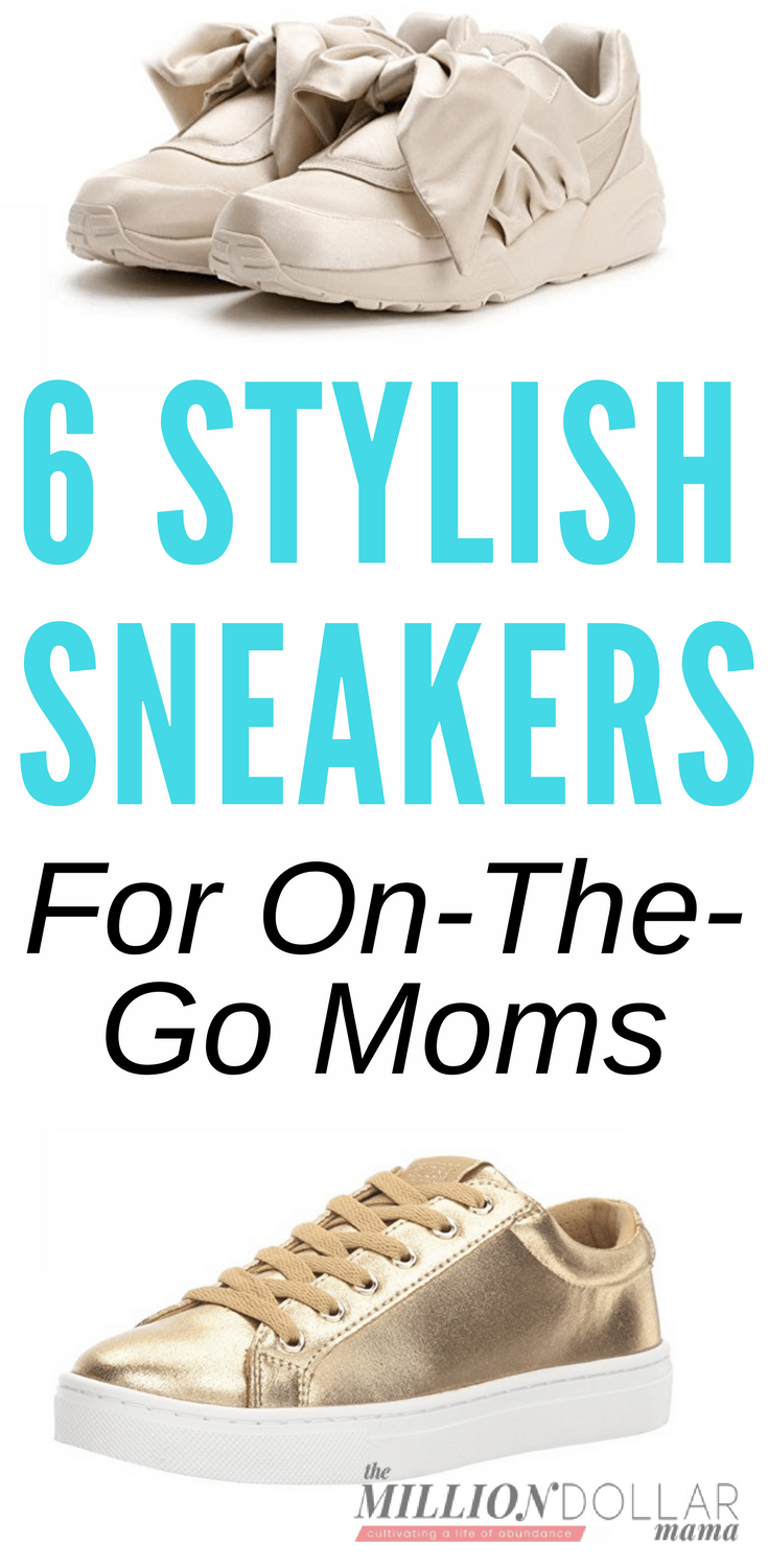 Stylish Sneakers Women | Stylish Mom Shoes | Chic Women's Sneakers