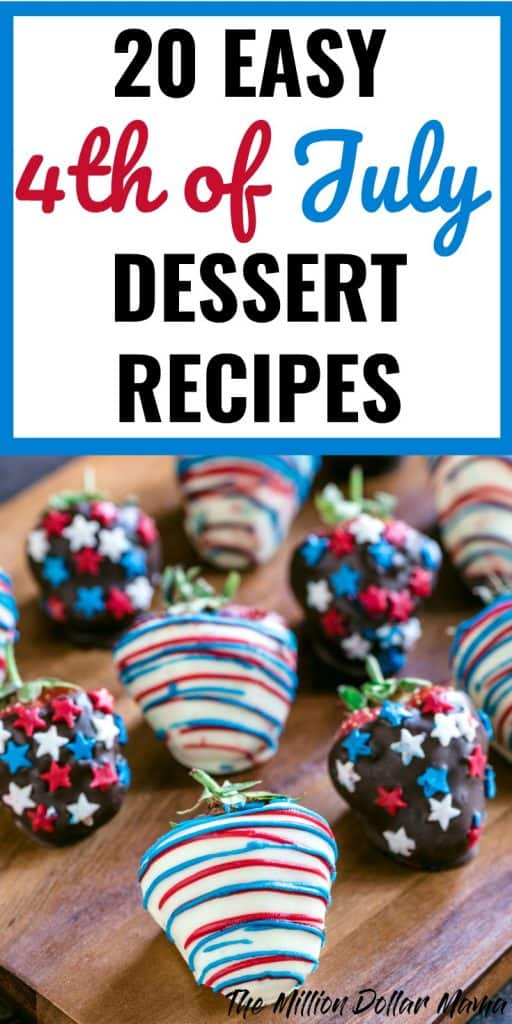 20 Easy 4th of July Dessert Recipes