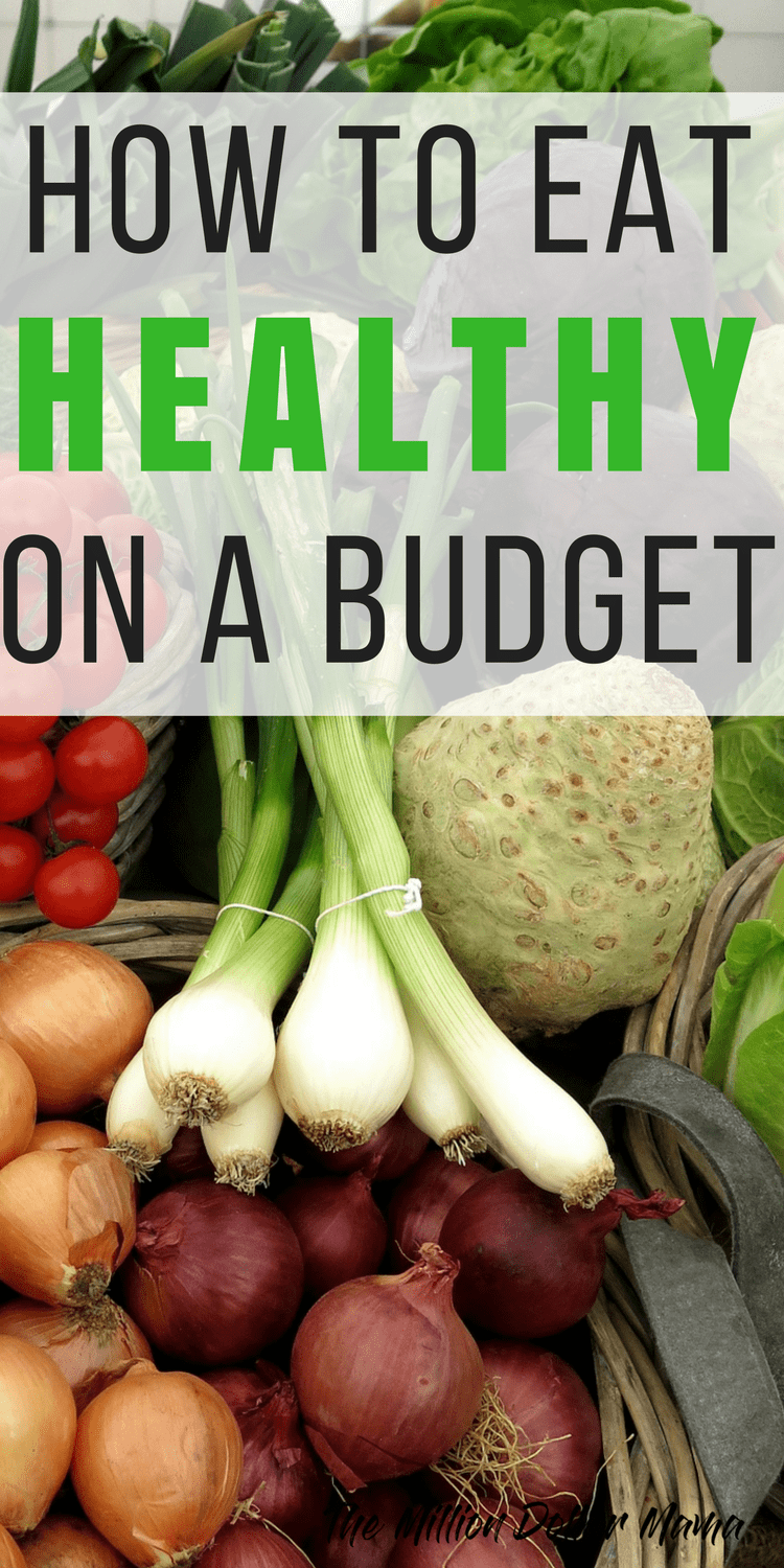 How to eat healthy on a budget! Pinning this because it has some awesome tips on how to eat healthy when you're on a budget! Perfect for beginners or anyone on a budget, really!