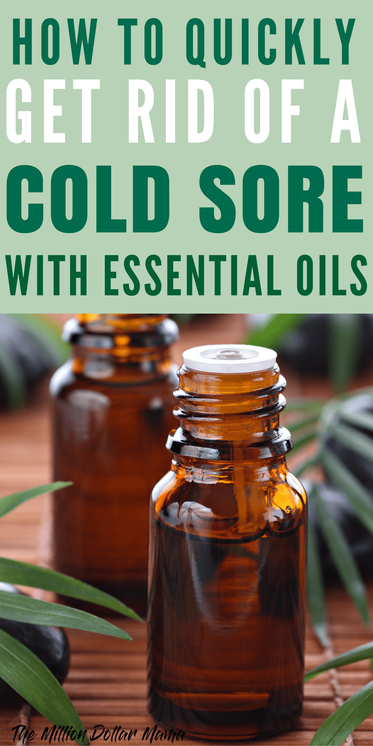 A Home Remedy For Cold Sores That Works Fast