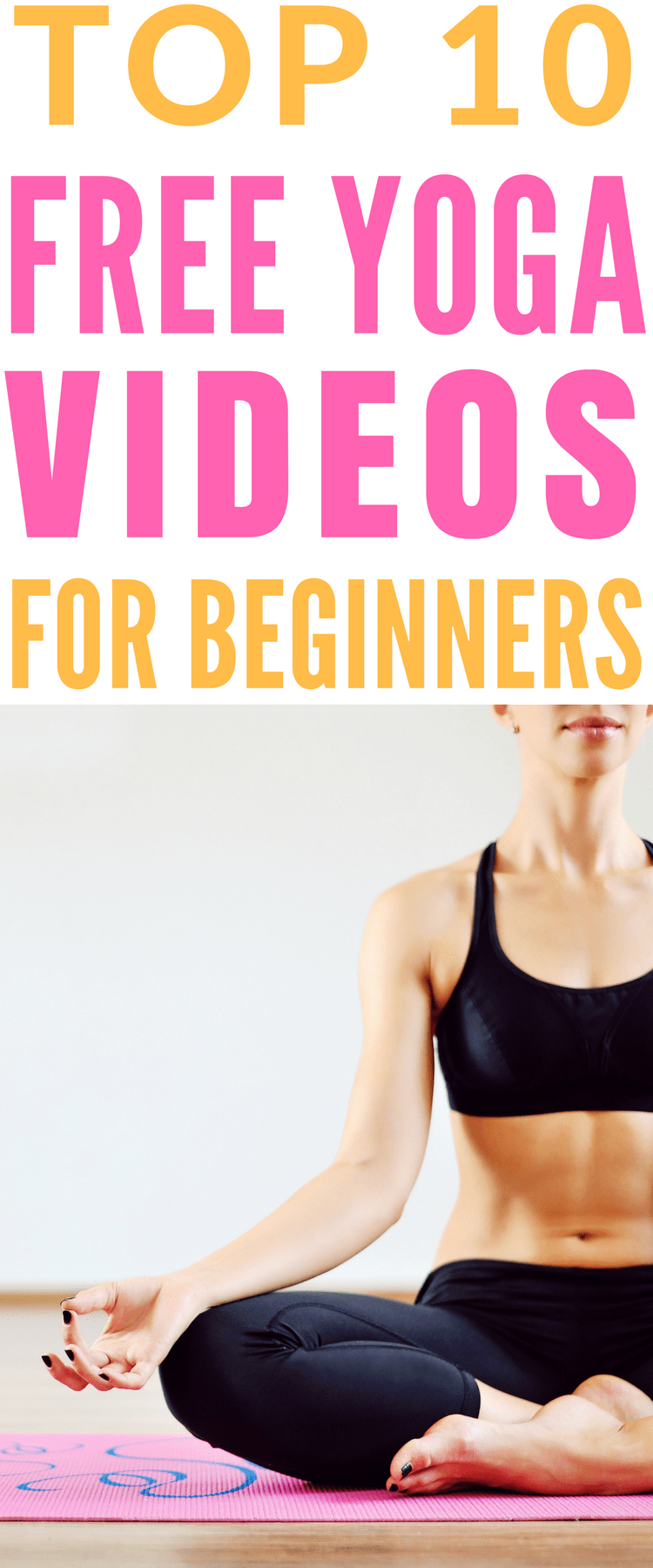Free Beginners Yoga Workout Videos - The Top 10 easy to follow yoga workout videos covering everything from yoga for relaxation and weight loss, to prenatal and morning yoga sequences.