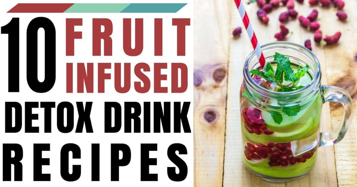 fresh fruit infused water recipes