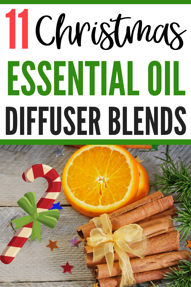11 Christmas Essential Oil Blends That'll Have Your Have Smelling Festive