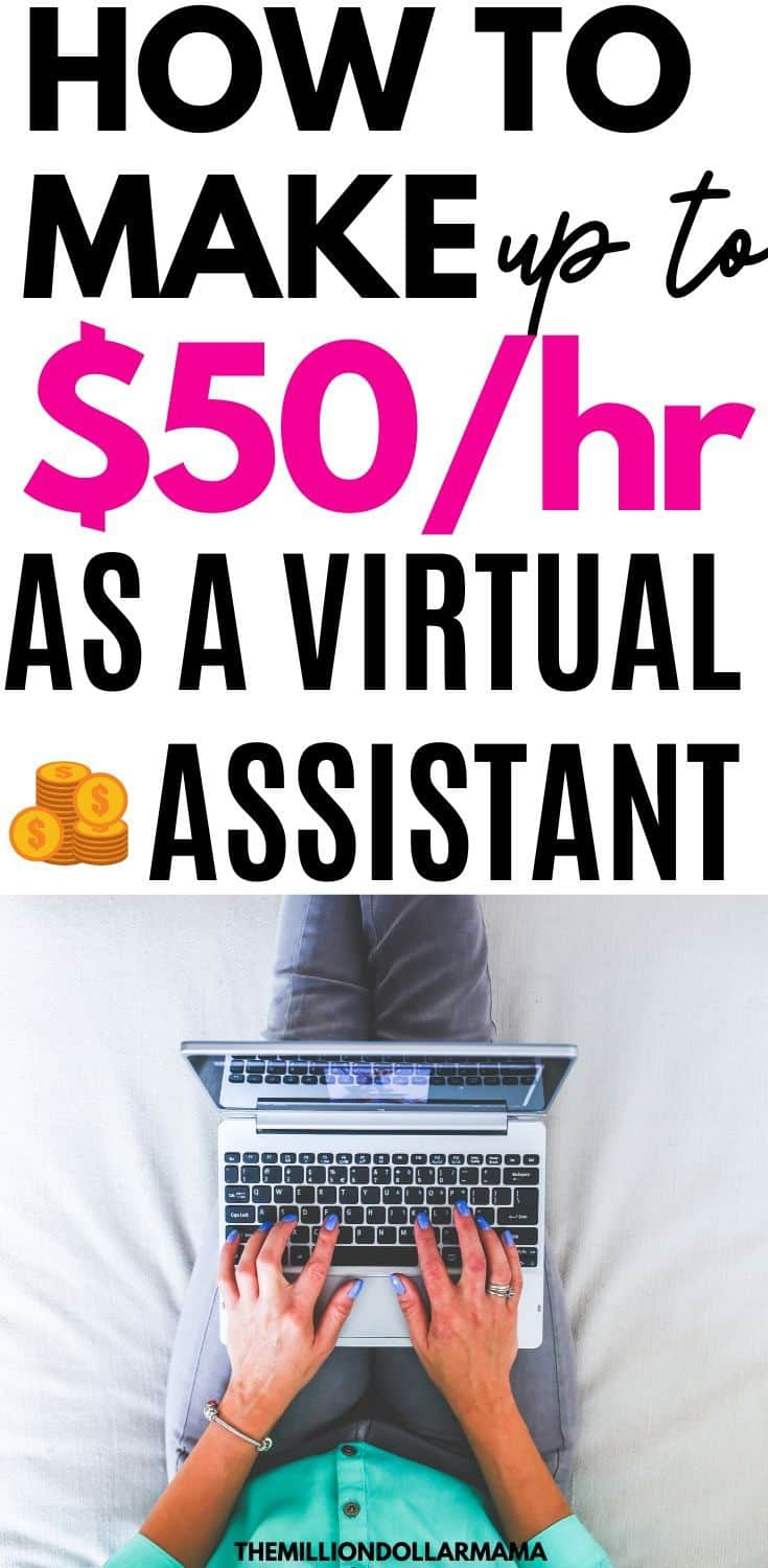 How to Make Money From Home as a Virtual Assistant (Up to $50/hr)
