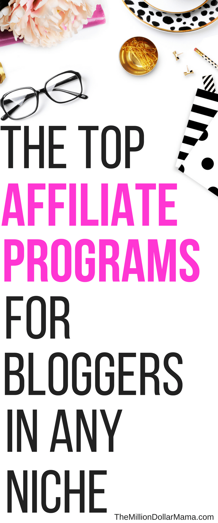 If you're a blogger looking to make money through affiliate programs, then this list of top affiliate programs is for you!