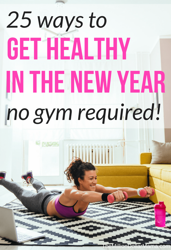 How to get fit at home! I love these 25 ways to get fit at healthy at home without a gym membership!
