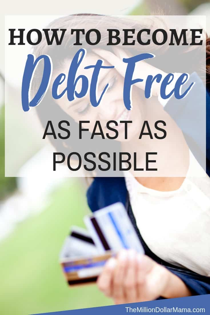 How to become debt free fast - 10 Tips for Reducing Your Debt as Fast as Possible From Someone Who is Completely Debt-Free!