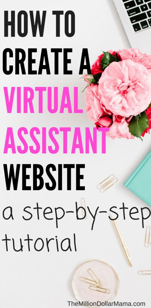 How to create a virtual assistant website - a step-by-step tutorial
