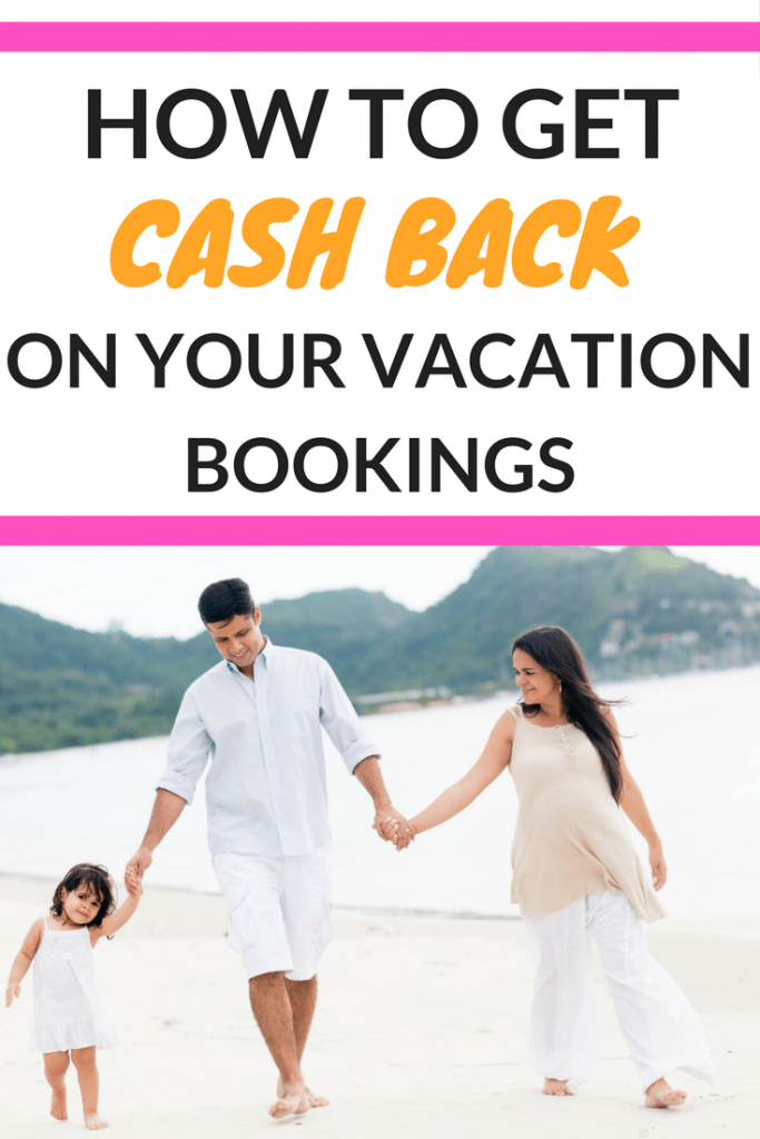 Looking for travel savings tips? This is one of my favorite ways to save money, and I can't believe that they actually give you cash back on your vacation bookings!