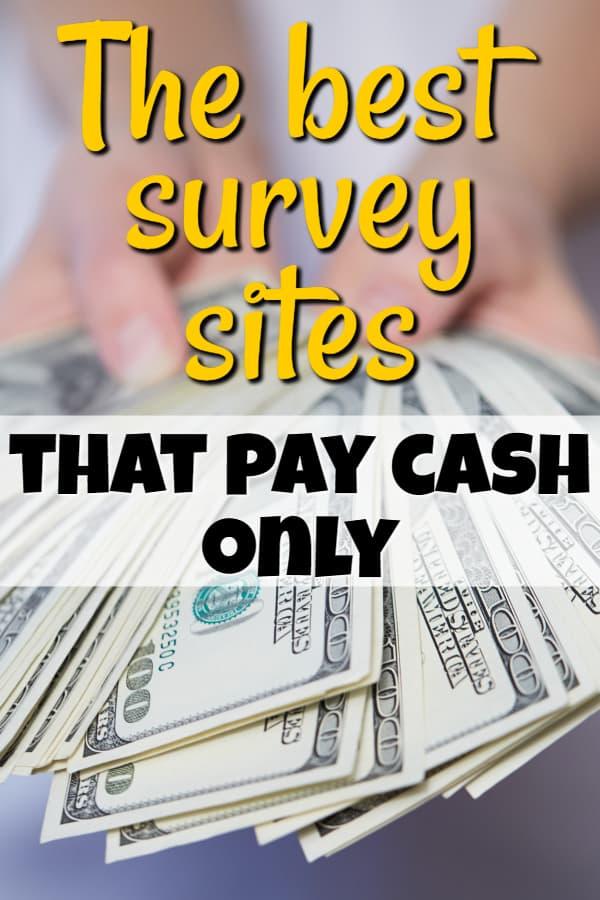 The best surveys that pay cash