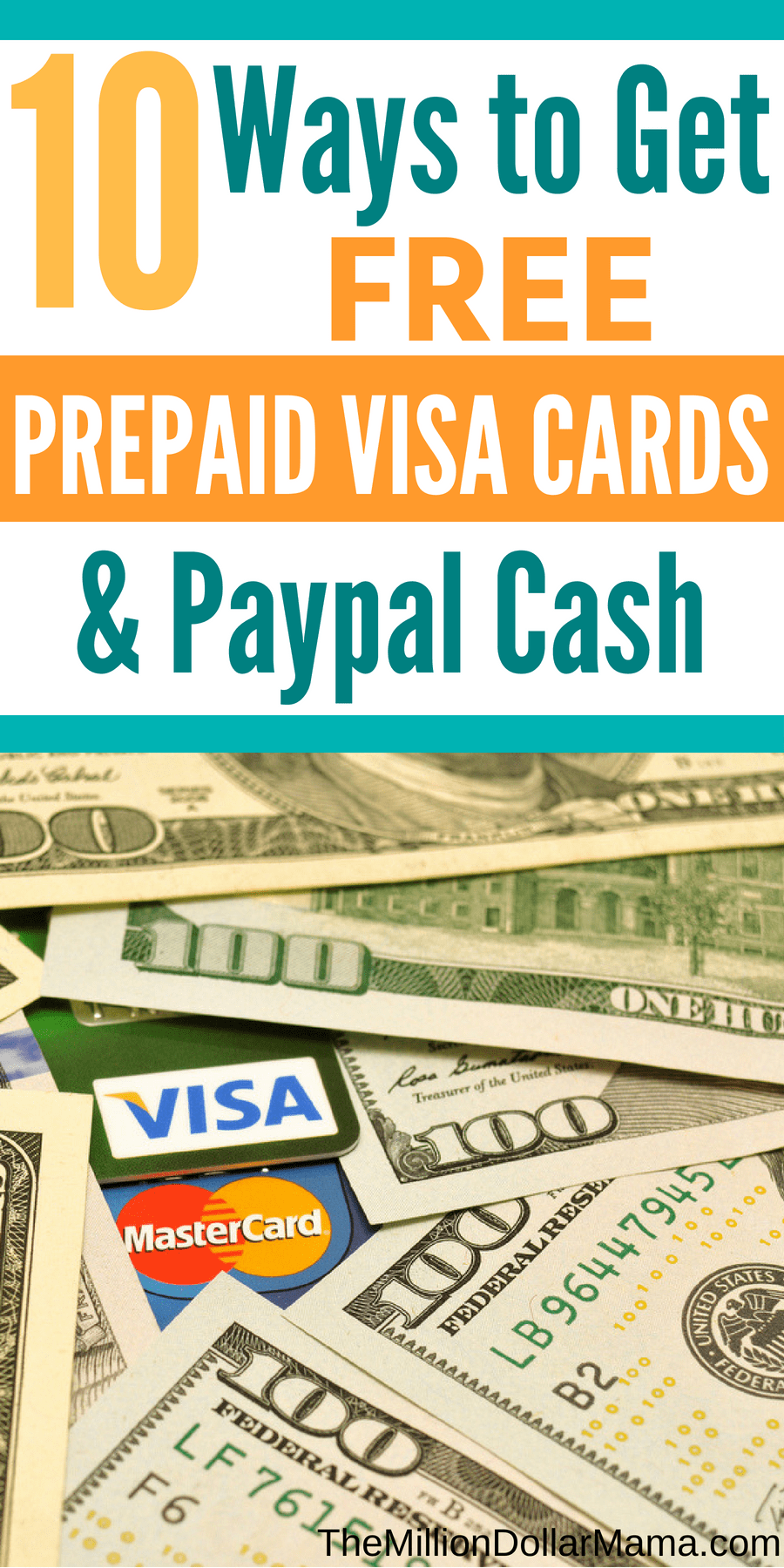 Free prepaid cards like Visa and Amazon gift cards are one of my favorite side hustles to make money from home. Here are 10 of my favorite ways to earn free prepaid gift cards and Paypal cash from home!