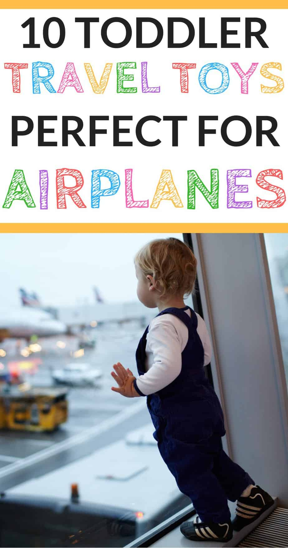 The top travel toys for toddlers for airplane travel! (From someone who has traveled across the world with a toddler!)