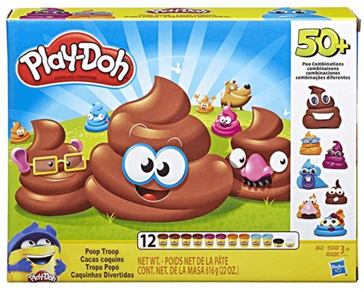 Play Doh Poop Troop Set