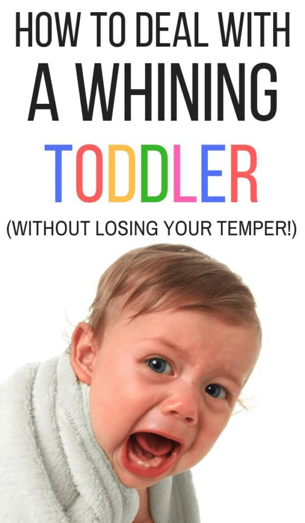 Why do kids whine? And how can you get them to stop? If you're looking for whining toddler tips, click through to read this article written by a behavior therapist!