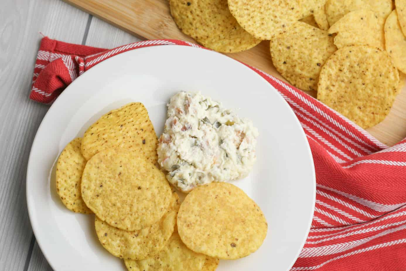 Cream cheese jalapeno dip with bacon