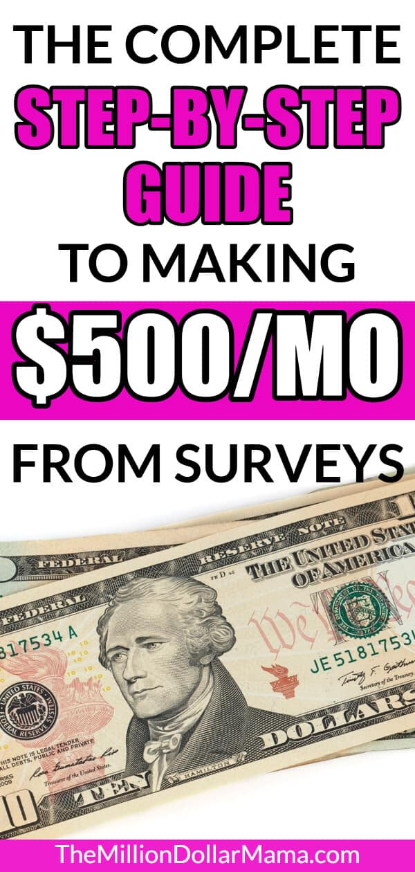 How to Make Money Online Taking Surveys (Up to $500/Month!)