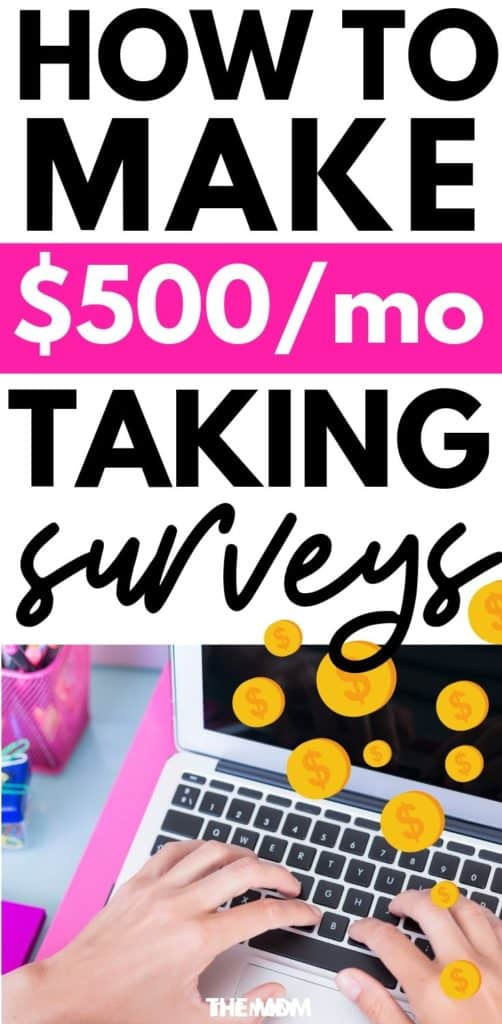 How to make money (up to $500/month) taking online surveys - these are the best survey sites to join