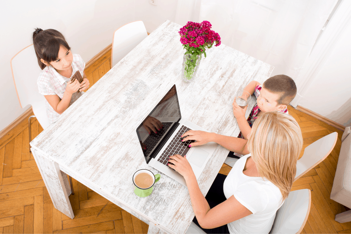work at home jobs for moms with no fees