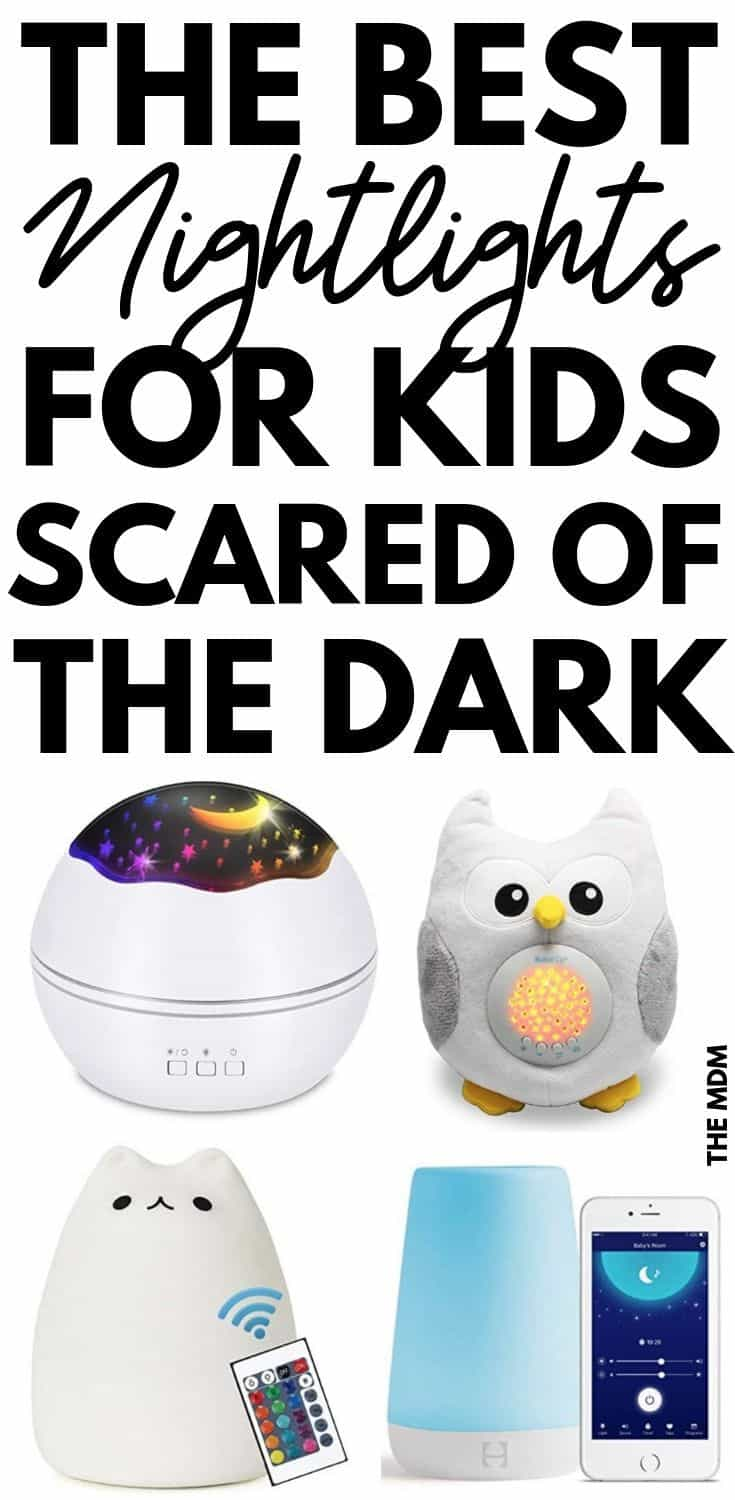 Is your kid scared of the dark? One of the best solutions is a night light - click through to find out what the best night lights for kids afraid of the dark.