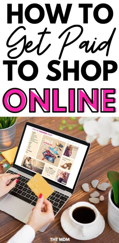 How to Get Paid to Shop Online - This Free Cash Back Site Will Pay You For Online Shopping - I've Made Almost $900! #makemoneyonline