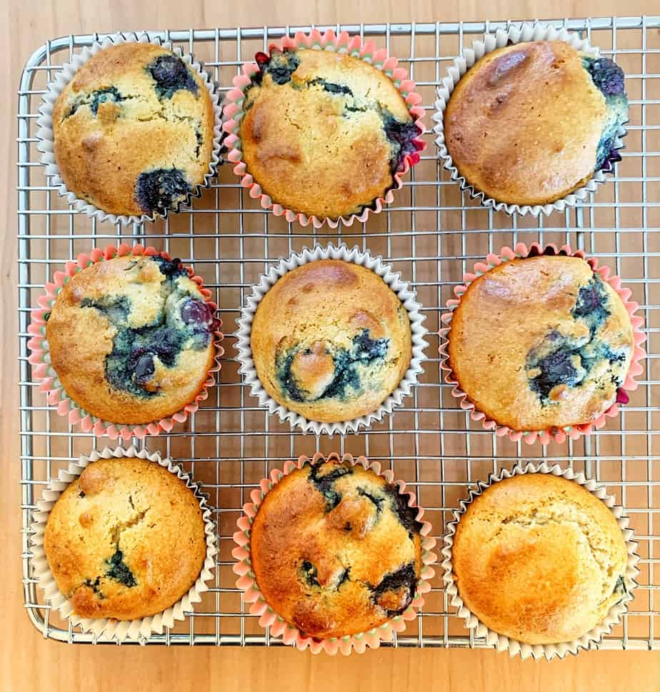 Almond Meal Blueberry Muffins – Easy, Delicious and Kid-Approved