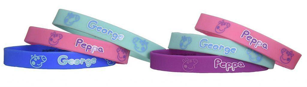 Peppa Pig Rubber bracelets