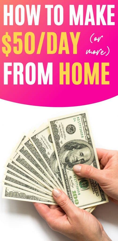 How to Make Money From Home - Learn How to Make $50 a Day (Or More) From Home