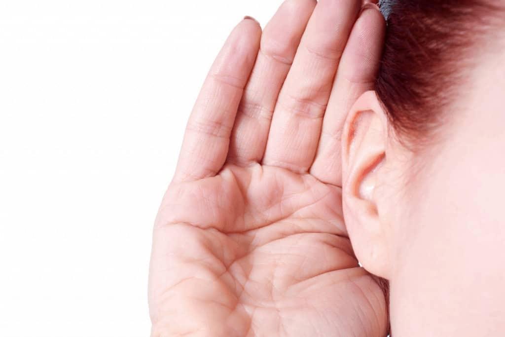 listen for noise