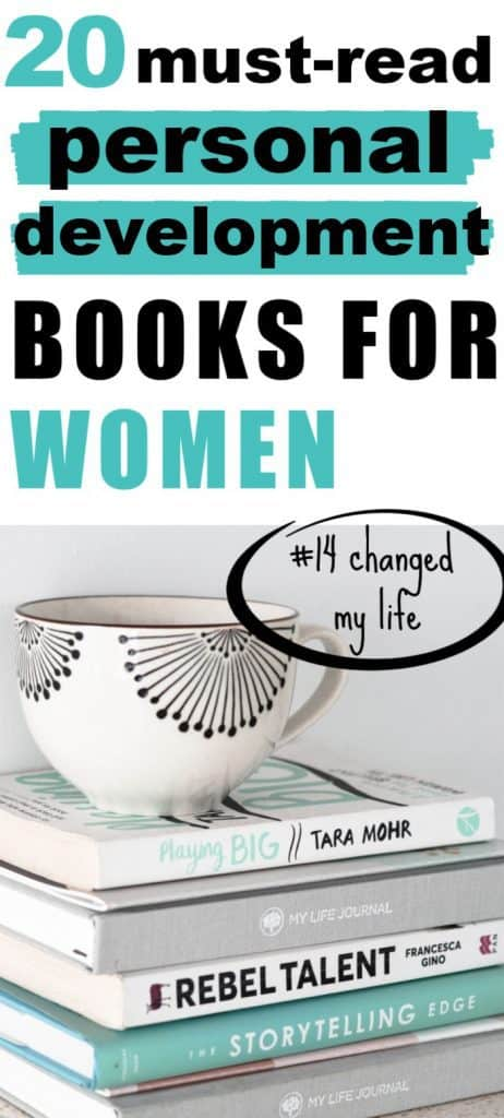 20 Must-Read Personal Development Books for Women - #14 Changed My Life...