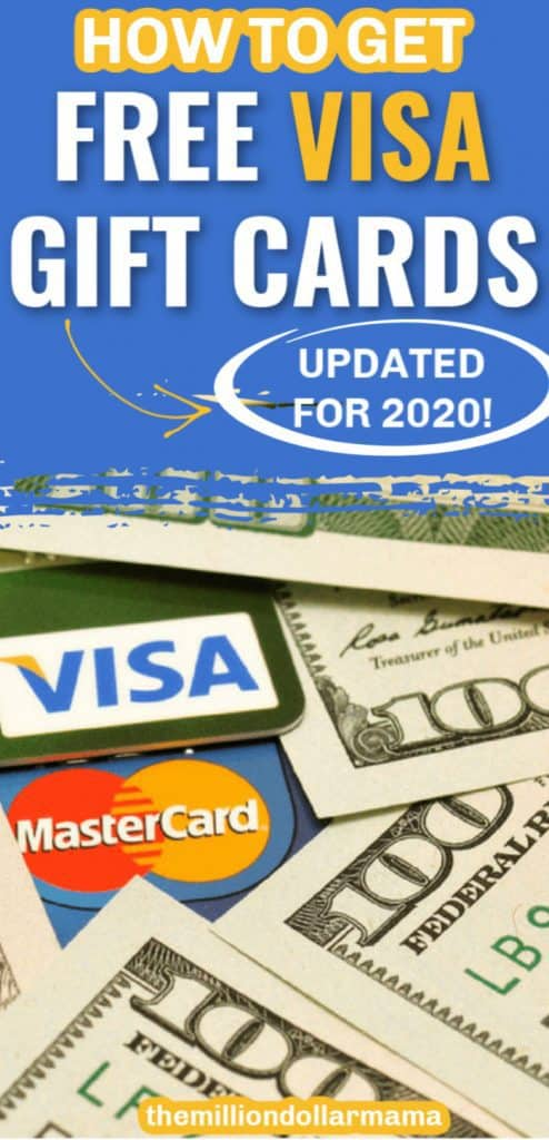 How to Get Free Visa Gift Cards Online - Updated for 2020
