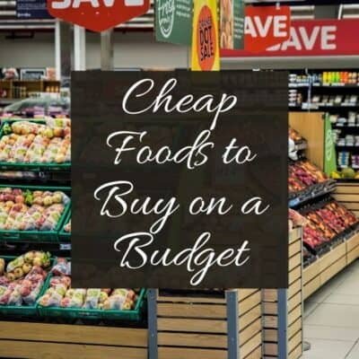 Cheap Food to Buy When You're Broke
