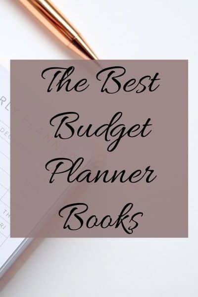 a planner on a table with a gold pen with text overlay
