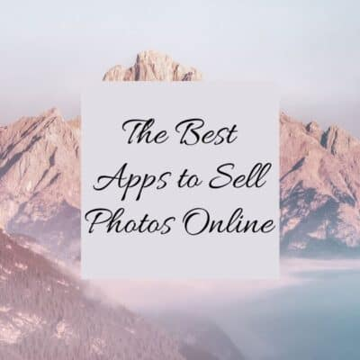 The Best Apps to Sell Photos