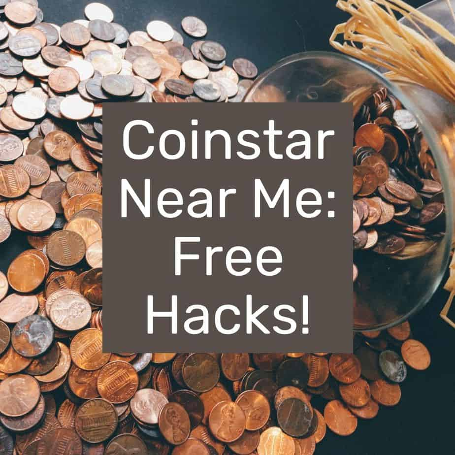 coins on a table with text overlay