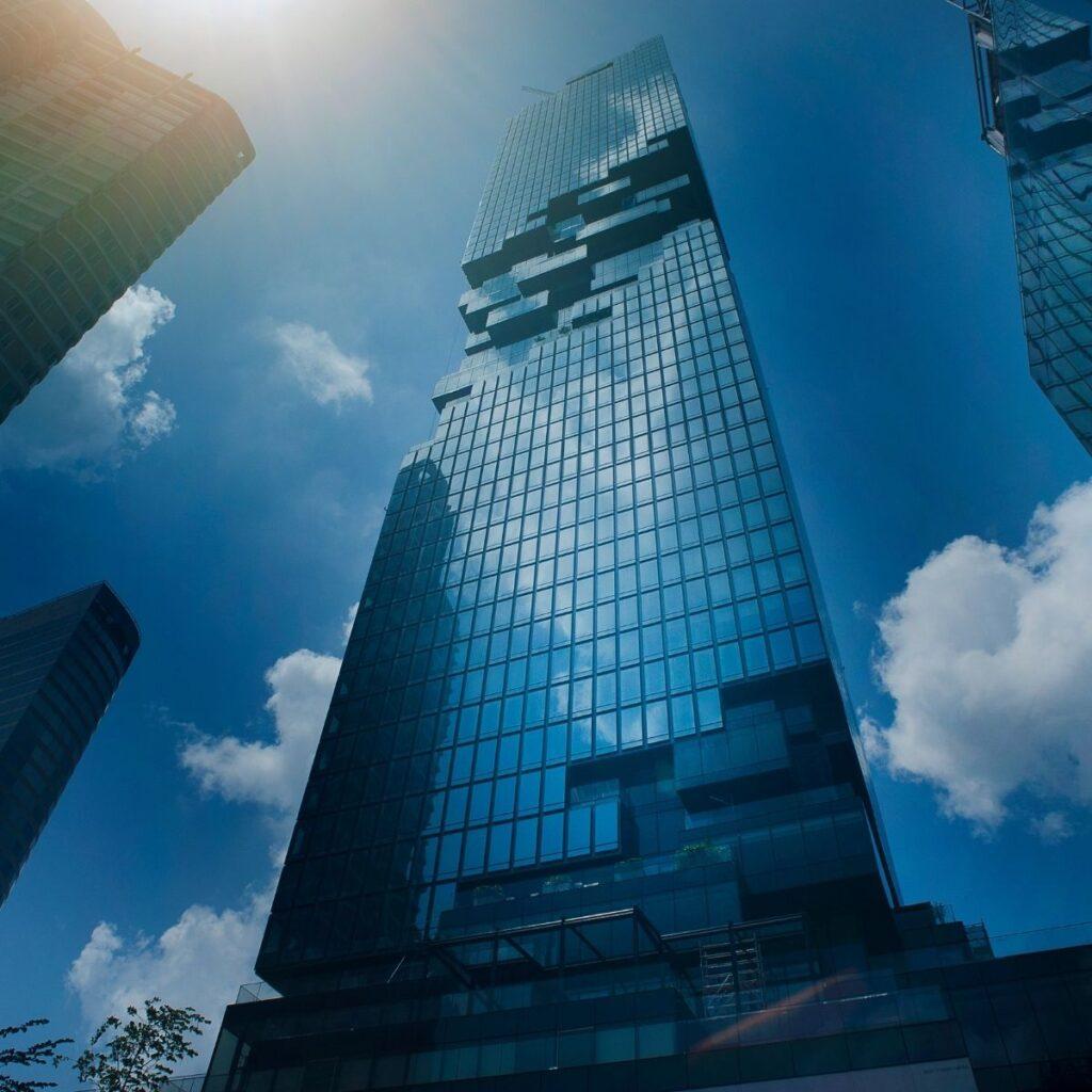 tall skyscrapers